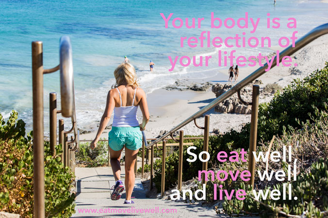 Your body is a reflection of your lifestyle quote