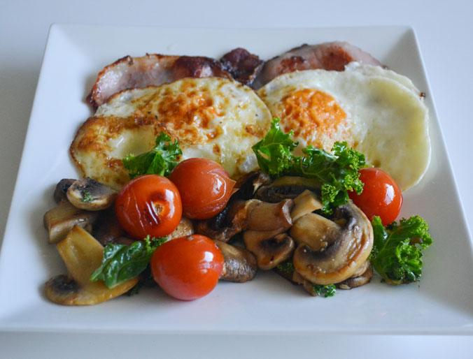 breakfast-bacon-eggs-mushrooms-kale