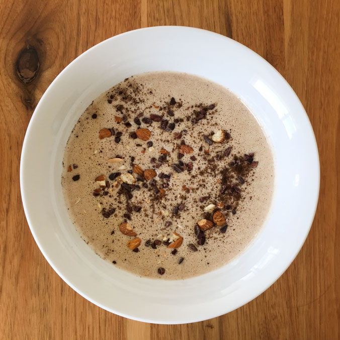 Vanilla Latte Smoothie Bowl