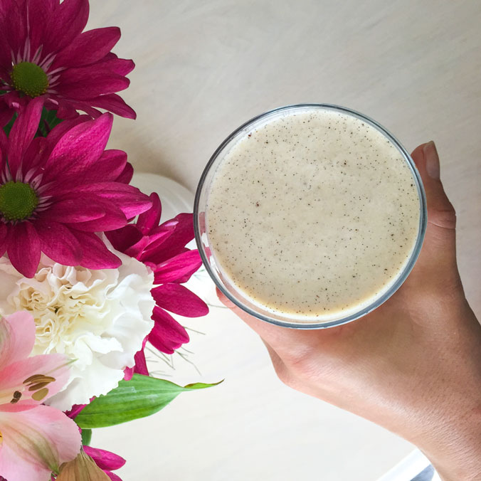 Energy dense weight gain smoothie