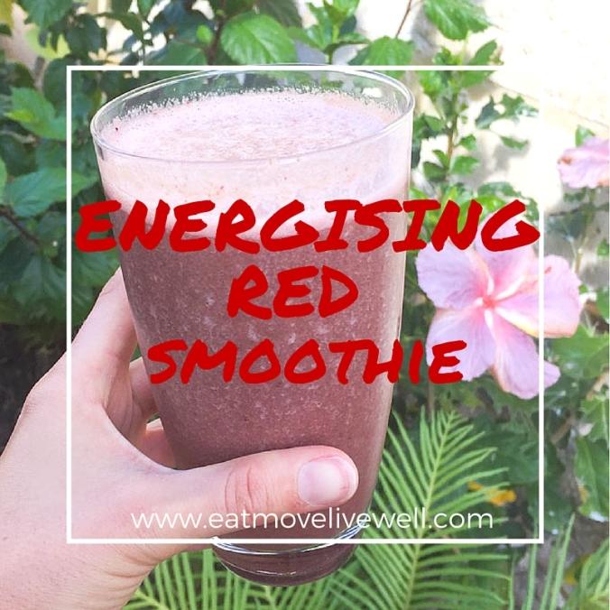 Energising Red Smoothie Recipe