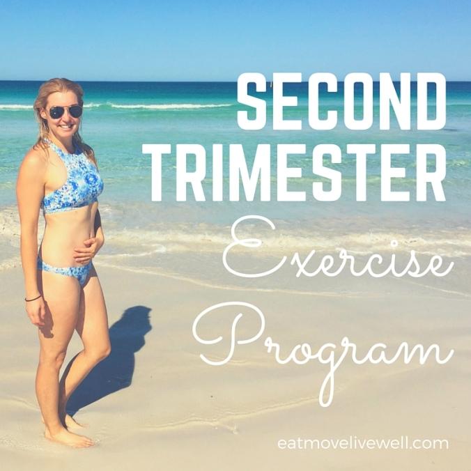 Second Trimester Pregnancy Exercise Program