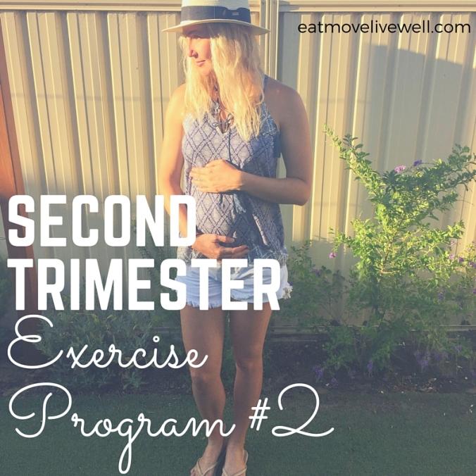 Second Trimester Exercise Program-2