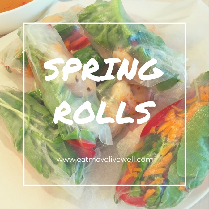Healthy Spring Rolls