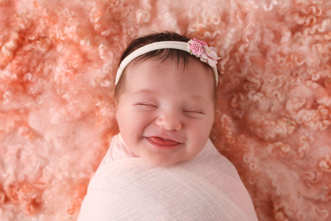 Summer Rose Brownlie 9 days new. Photo by Barebright Photography.